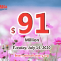 Mega Millions results of July 10, 2020, Jackpot is at $91 million