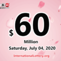 Powerball results of July 01, 2020: Jackpot raises to $60 million