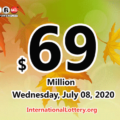 Powerball jackpot climbs to $69 million for July 08, 2020