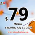 Powerball results for 2020/07/08: Jackpot is $79 million