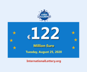 Six players won the Euro Millions second prizes; Jackpot is €122 million