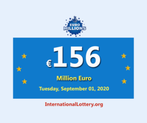 Euro Millions Lotteryis the biggest jackpot in the world with €156 million euro