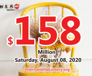 $1 million of Powerball belonged to Tennessee player on August 05, 2020