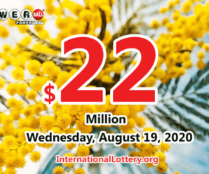 Powerball results for 2020/08/15: Jackpot is $22 million