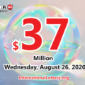 Powerball results of August 22, 2020: Jackpot raises to $37 million