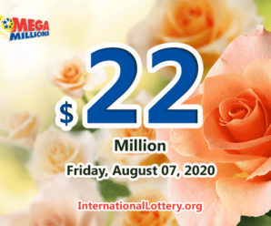 A player won $1 million with Mega Millions on August 04, 2020