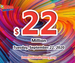 Mega Millions results of September 18, 2020, Jackpot is at $22 million