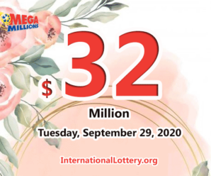 Mega Millions results of September 25, 2020 – Jackpot is at $32 million