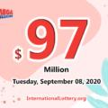 Georgia player won $1 million; Mega Millions jackpot rises to $97 million