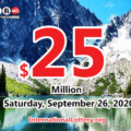 Powerball jackpot climbs to $25 million for September 26, 2020