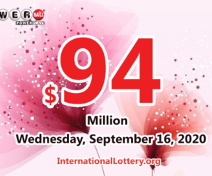 The result of Powerball of America on Saturday, September 12, 2020