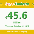 Results of SuperEnalotto lottery on September 29, 2020; Jackpot raises to 45.6 million Euro