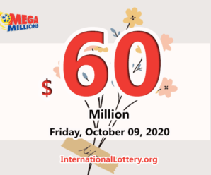 Who will win the next $60 million Mega Millions jackpot on October 09, 2020?