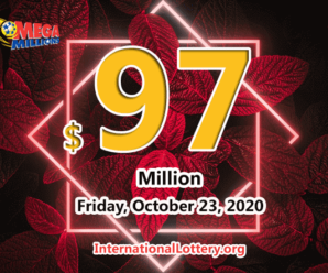 Mega Millions jackpot is waiting the owner, It is $97 million now