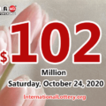 Result of Powerball on October 21, 2020: A player won $1 million
