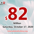 Powerball results of October 14, 2020: Jackpot raises to $82 million
