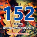 Mega Millions jackpot is waiting the owner, It is $152 million now