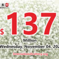 Powerball results for 2020/10/31: Three players won $4 million