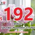 Powerball results for 2020/11/18: Jackpot raises to $192 million