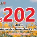 Who will win the next $202 million Powerball jackpot on November 25, 2020?