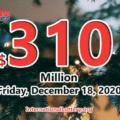 Mega Millions rewared 3 million dollars prizes; Jackpot raises to $310 million