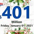 Rolling balls push the Mega Millions jackpot to $401 million