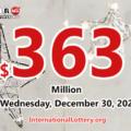 2020/12/26: 5 new millionaires; Powerball jackpot climbs to $363 million