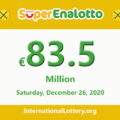 Jackpot SuperEnalotto is becoming hotter with 83.5 million Euro