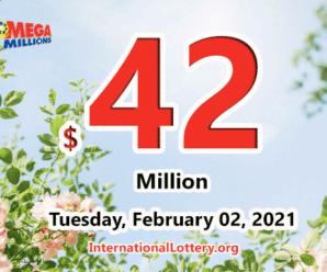 One Michigan player won $1 million; Mega Millions jackpot rises to $42 million