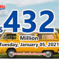 Mega Millions jackpot is $432 million for the first drawing of 2021