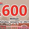 Who will win the big $600 million Mega Millions jackpot on January 12, 2021?