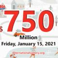 Amazing, 9 players became millionaires, Mega Millions jackpot soars up to $750 million