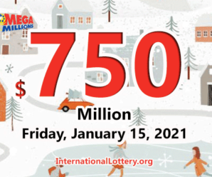 Amazing, 9 players became millionaires, Mega Millions jackpot soars up to $750 million