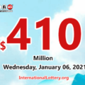 Numerous awards appeared: Powerball jackpot soars up to $410 million
