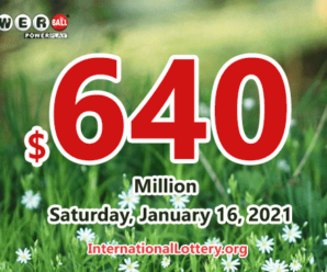 11 players won the second prizes; Powerball jackpot is $640 million