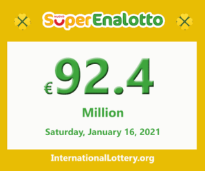 Jackpot SuperEnalotto is becoming hotter with 92.4 million Euro