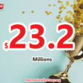 $23.2 million Powerball Jackpot have found its owner; 43 players won the second prizes