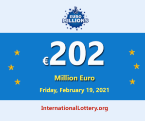 Now, Jackpot is €202 million Euro is the biggest jackpot in the wolrd