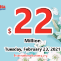 Mega Millions results of February 19, 2021; Jackpot now is $22 million