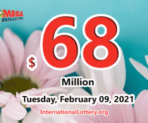 Mega Millions results for 2021/02/05; Jackpot stands at $68 million