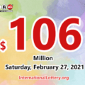 Powerball jackpot climbs to $106 million for the drawing on February 27, 2021