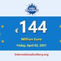 4 players won the second prizes; Euro Millions Lotteryjackpot is €144 million