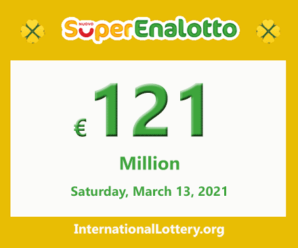 Jackpot SuperEnalotto is becoming hotter with €121 million