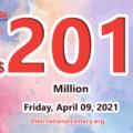 A new millionaire; Mega Millions jackpot jumps to $201 million