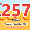 Mega Millions jackpot is waiting the owner, It is $257 million now