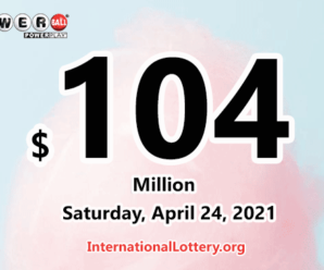 Result of Powerball on April 21, 2021: A player won $2 million