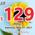 Two winners received the second prizes; Powerball jackpot spins to $129 million