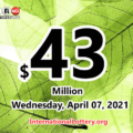 The result of Powerball of America on Saturday, April 03, 2021