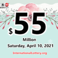 Powerball results for 2021/04/07: Jackpot raises to $55 million