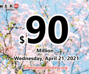 $3 million of Powerball belonged to 3 players on April 17, 2021